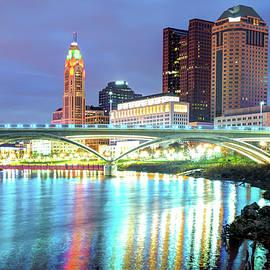 Gregory Ballos - Skyline of Columbus Ohio at Night