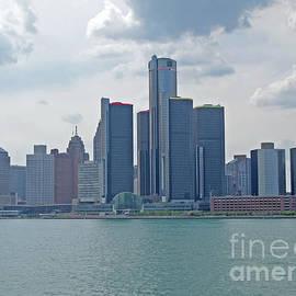 Ann Horn - Skyline of Detroit