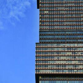 Skyscraper Abstract # 18 by Allen Beatty