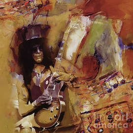 Gull G - Slash guitarist 1