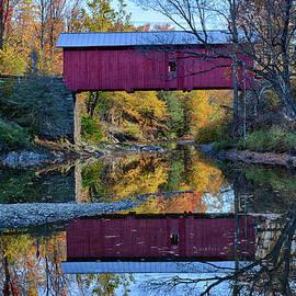 Slaughterhouse covered bridge by Jeff Folger