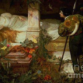 Sleeping Beauty - Edward Frederick Brewtnall