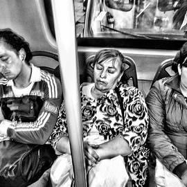Daniel Gomez - Sleeping Bus Riders