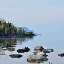 Sleeping Giant Trail View-Lake Superior Shoreline