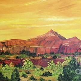 Lorita Montgomery - Sleeping Indian Mountain