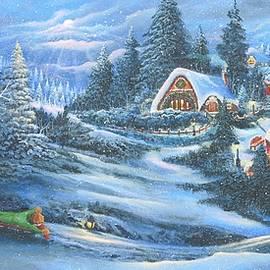 Bonnie Cook - Sleighriding Village