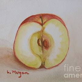 Sliced Apple by Laurie Morgan