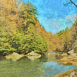Slippery Rock Creek by Digital Photographic Arts