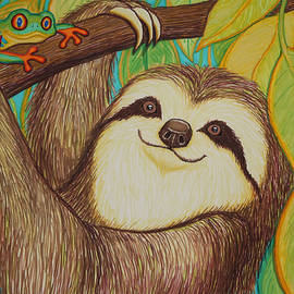 Sloth and Frog by Nick Gustafson
