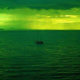 Jeff Swan - Small boat at dusk