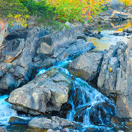 Small Falls on Great Falls of the Potomac by Jeff at JSJ Photography
