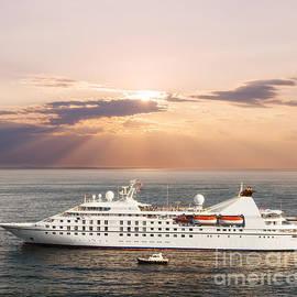Small Luxury Cruise Ship by Elena Elisseeva