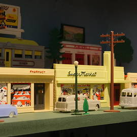 Small World - Plasticville Main Street by Richard Reeve
