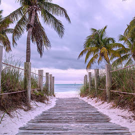 Betsy Knapp - Smathers Beach Key West Paradise