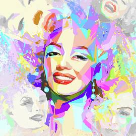 Boghrat Sadeghan - Smiling Marilyn