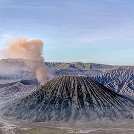 smoke over Mount Bromo - Java - Joana Kruse