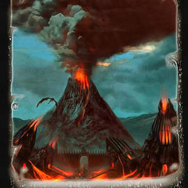 Mario Carini - Smoke Over Mount Doom