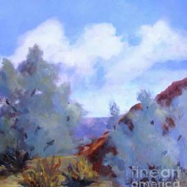 Maria Hunt - Smoke Trees in Bloom in Palm Desert
