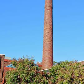Smokestack In Durham by Cynthia Guinn