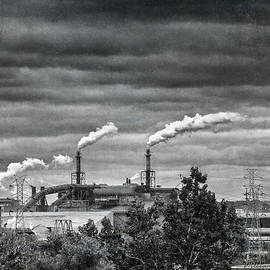 Smokestacks by William Beuther