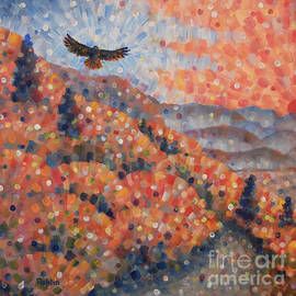 Jim Rehlin - Smokies / Red-tailed Hawk