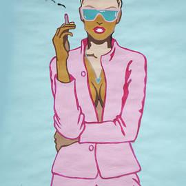 Stormm Bradshaw - Short Hair Woman Smoking