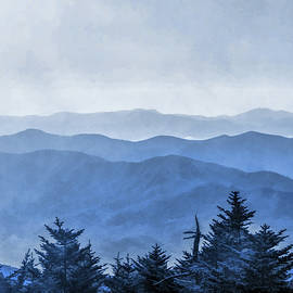 Smoky Mountains Morning Fog by Christopher Arndt