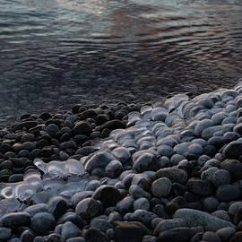 Smooth Stones and Ice - Take One by Georgia Mizuleva