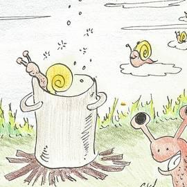 Snails by Gabriel Coelho