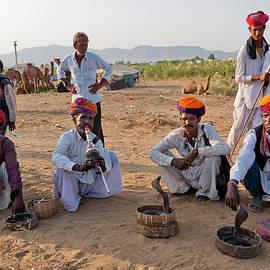 Snake Charmers Pushkar by Doug Matthews