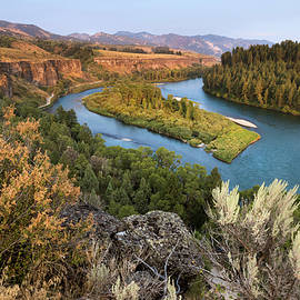 Snake River - Heise Road by David Halter