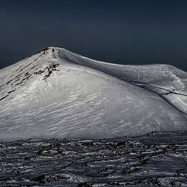 Snow Covered Pu'u at Dawn by Heidi Fickinger