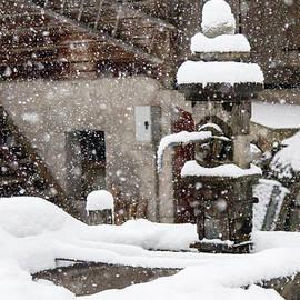 Nicola Simeoni - Snow in the ancient village