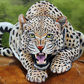 Snow Leopard by Pechez Sepehri