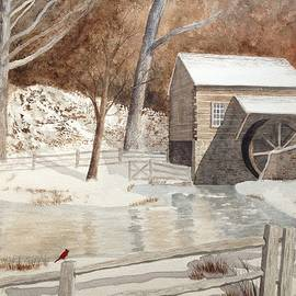 Denise Harty - Snow on Cuttalossa Farm
