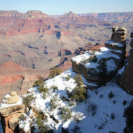 Snow on Yaki Point by Derrick Neill