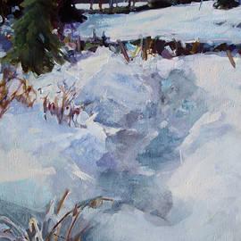 Snow Path by Diane Ursin