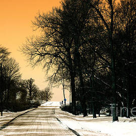 Alan Look - Snow Road Infrared