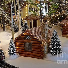 Nava Thompson - Snow Scene With Train