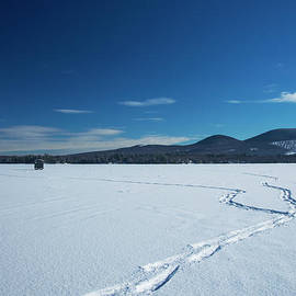 Alana Ranney - Snow Shoeing on the Lake