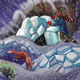 Dawn Senior-Trask - Snow Tang - Story Illustration 9
