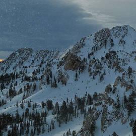 Raymond Salani III - Snowbasin Ski Area as a Snow Globe
