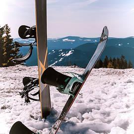 Athena Mckinzie - Snowboarding At Mt. Hood