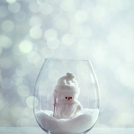 Amanda Elwell - Snowman Christmas Snowglove