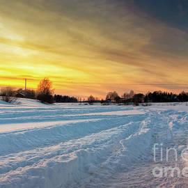 Jukka Heinovirta - Snowmobile Tracks In The Deep Snow