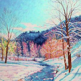 Snowy Creek by Bonnie Mason