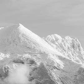 Snowy mountains - 4 - French Alps by Paul MAURICE