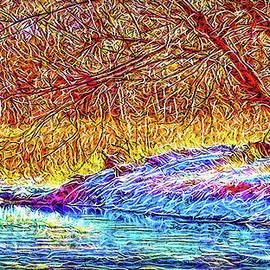 Snowy Stream Dreams by Joel Bruce Wallach