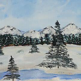 Snowy Winter by Jimmy Clark