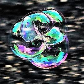 Soap Bubble Mania #1 by Diann Fisher